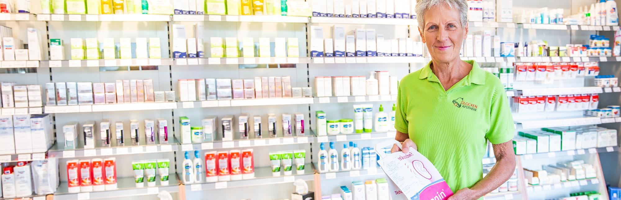 Vorbestellung und Lieferung von Medikamenten