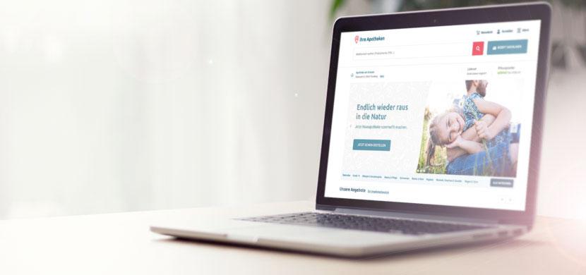 Wir sind Ihre Apotheke vor Ort – auch online.